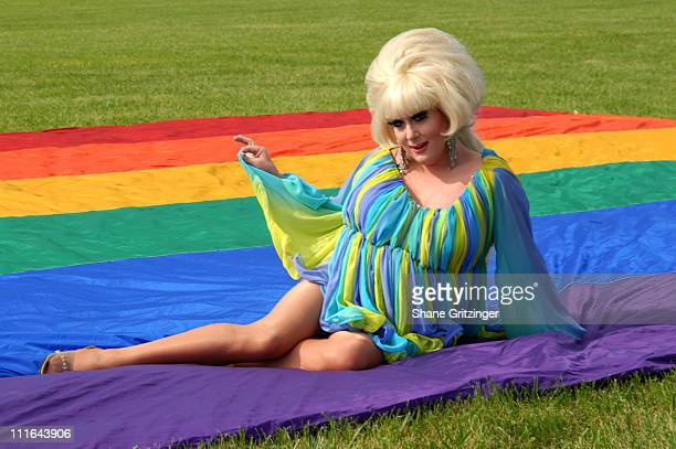 Lady Bunny during The 14th Annual Empire State Pride Agenda Foundation's Hamptons Tea Dance With Special Host DJ Lady Bunny at The Ark Project in...