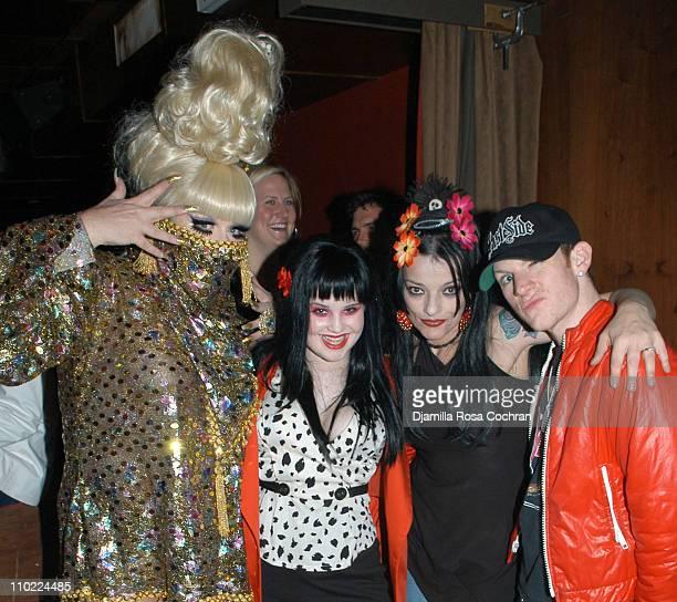 Lady Bunny Kelly Osbourne Nina Hagen and Joshua Ian