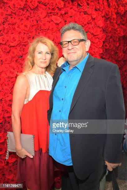Lady Caroline Grainge and Sir Lucian Grainge as The American Friends of Covent Garden Celebrates 50 Years With A Special Event For The Royal Opera...