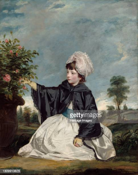 Lady Caroline Howard, 1778. Artist Sir Joshua Reynolds. .