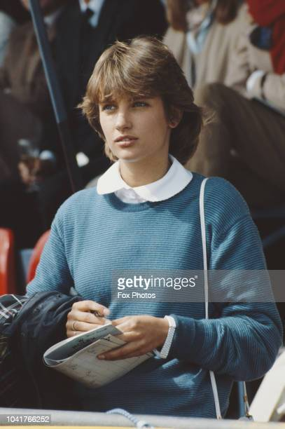 Lady Carolyn Herbert the daughter of Lord Porchester the racing manager to Queen Elizabeth II July 1984