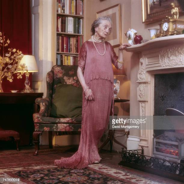 Lady Charlotte BonhamCarter 21st March 1976 She is wearing a wearing the 1922 Fortuny Delphos dress in which she later posed for painter Peter...