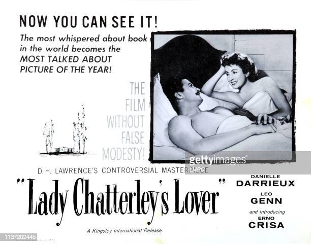 Lady Chatterley's Lover, poster, , Erno Crisa, Danielle Darrieux, 1955.