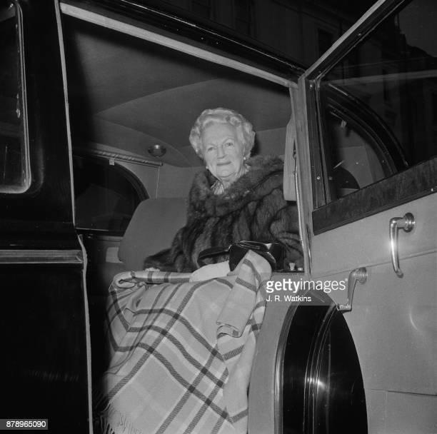 Lady Clementine Churchill London UK 17th November 1960