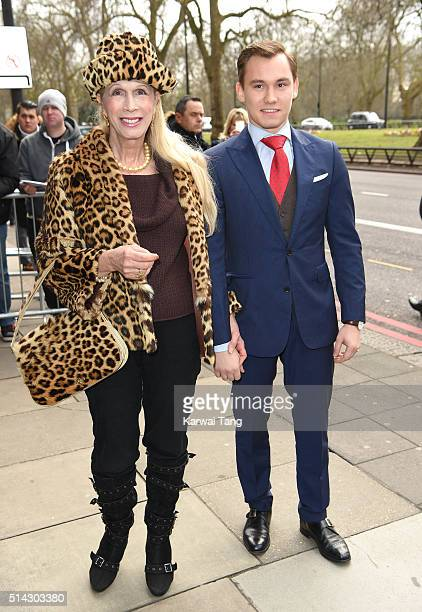 Lady Colin Campbell and Dima Campbell attend the TRIC Awards 2016 at Grosvenor House Hotel at The Grosvenor House Hotel on March 8 2016 in London...