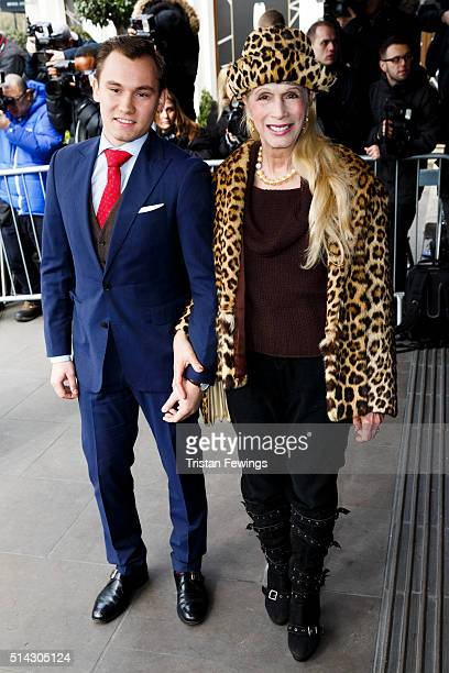 Lady Colin Campbell and Dima Campbell attend the TRIC Awards at Grosvenor House Hotel at The Grosvenor House Hotel on March 8 2016 in London England
