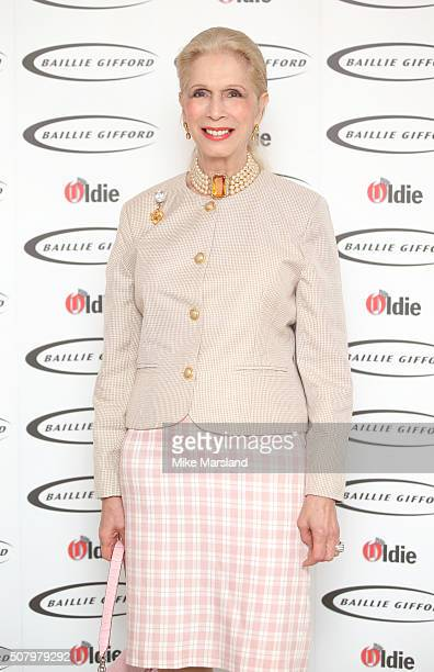 Lady Colin Campbell arrives for the 'Oldie Of The Year Awards' at Simpsons in the Strand on February 2, 2016 in London, England.