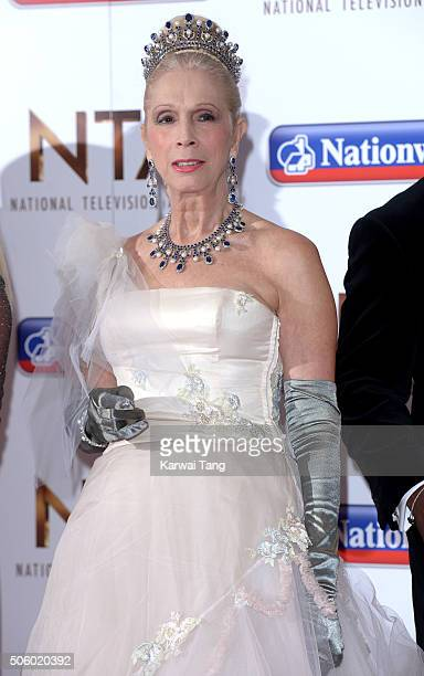 Lady Colin Campbell attends the 21st National Television Awards at The O2 Arena on January 20 2016 in London England