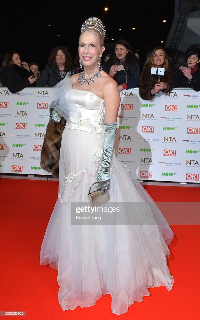 Lady Colin Campbell attends the 21st National Television Awards at The O2 Arena on January 20, 2016 in London, England.