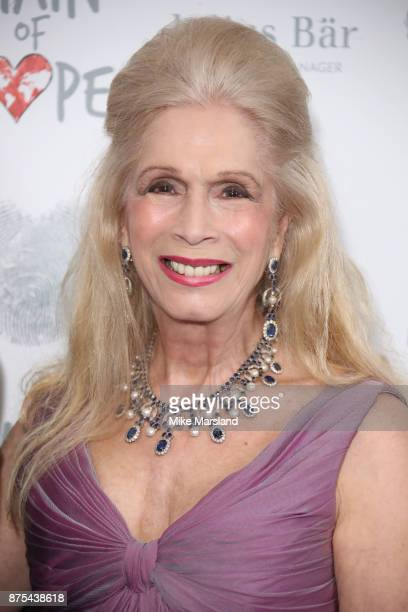 Lady Colin Campbell attends the Chain Of Hope Gala Ball held at Grosvenor House on November 17 2017 in London England