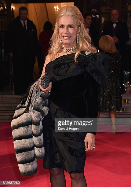 Lady Colin Campbell attends the ITV Gala hosted by Jason Manford at London Palladium on November 24 2016 in London England