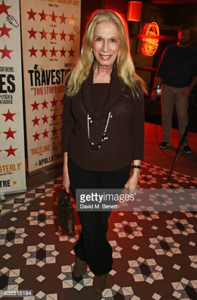 "Lady Colin Campbell attends the press night after party for ""Travesties"" at 100 Wardour St on February 15, 2017 in London, England."