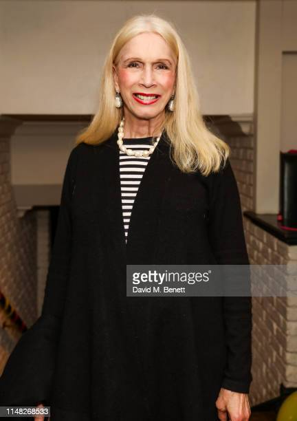 Lady Colin Campbell attends the press night after party for Education Education Education at Walkers of Whitehall on June 5 2019 in London England