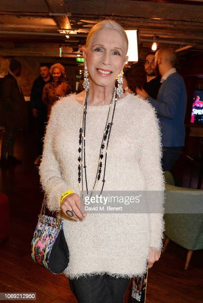 Lady Colin Campbell attends the press night after party for Nine Night at the Picturehouse Central on December 6 2018 in London England