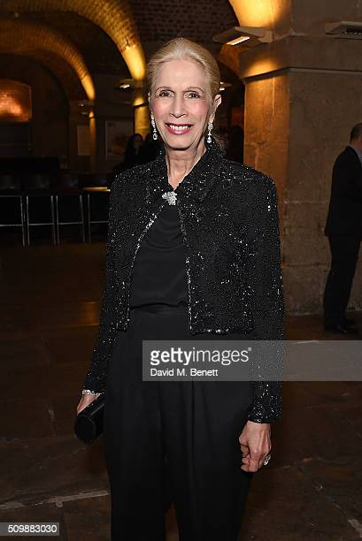 Lady Colin Campbell attends the press night after party of Nell Gwynn at The Crypt St Martins on February 12 2016 in London England