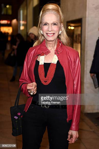 Lady Colin Campbell attends the Press night for Cirque Berserk at The Peacock Theatre on February 9 2016 in London England