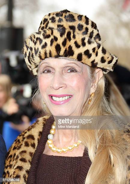 Lady Colin Campbell attends the TRIC Awards at Grosvenor House Hotel at The Grosvenor House Hotel on March 8, 2016 in London, England.