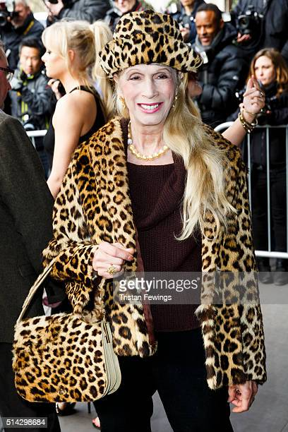 Lady Colin Campbell attends the TRIC Awards at Grosvenor House Hotel at The Grosvenor House Hotel on March 8 2016 in London England
