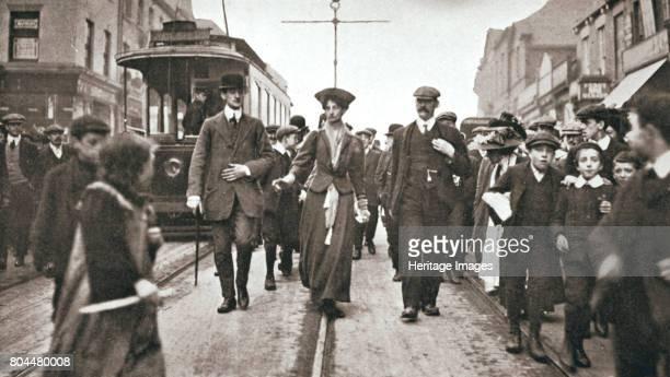 Lady Constance Lytton, British suffragette, Newcastle, 9 October 1909. Lady Constance Lytton before she threw a stone at Sir Walter Runciman's car....