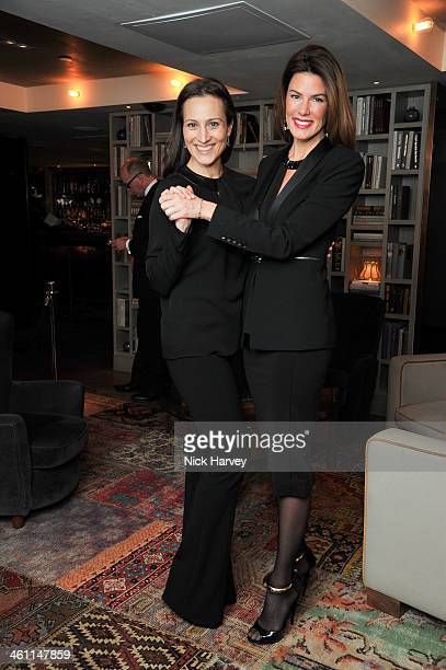 Lady Dalit Nuttall and Christina Estrada attends the Launch Of Saqqara Jewels Hosted By Lady Dalit Nuttall at the Belgraves Hotel on 27th November...