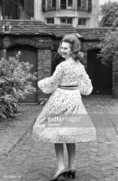 Lady Dartmouth daughter of Alexander McCorquodale and romantic novelist Dame Barbara Cartland voted one of the 10 best dressed ladies in the country...
