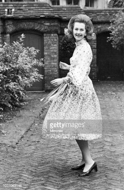 Lady Dartmouth daughter of Alexander McCorquodale and romantic novelist Dame Barbara Cartland voted one of the 10 best dress ladies in the country...