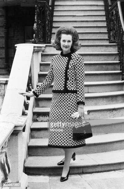 Lady Dartmouth, daughter of Alexander McCorquodale and romantic novelist Dame Barbara Cartland, voted one of the 10 best dress ladies in the country...