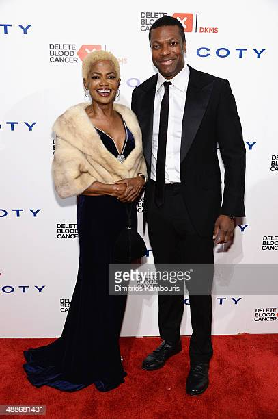 Lady Dee and Chris Tucker attend the 2014 Delete Blood Cancer Gala Honoring Evan Sohn and the Sohn Conference Foundation at Cipriani Wall Street on...
