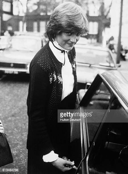 Lady Diana At Sandringham A recent picture of Lady Diana Spencer whose name has been linked romantically with Prince Charles Lady Diana went to...