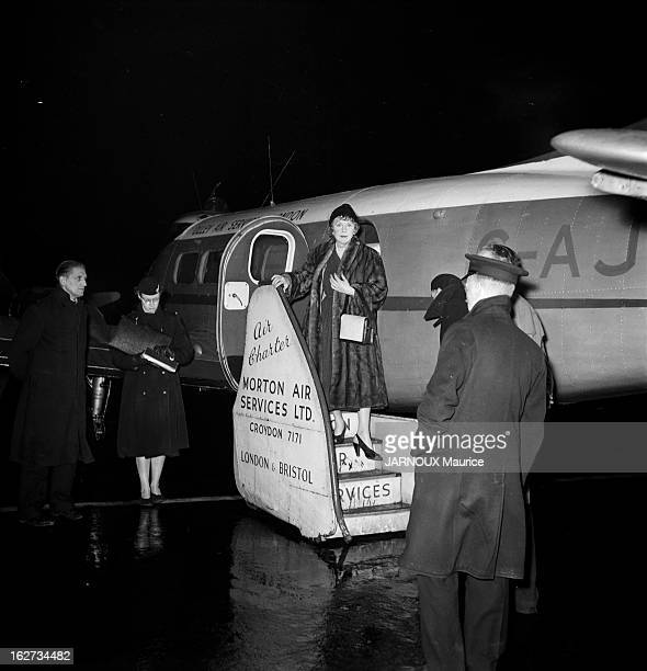 Lady Diana Norwich, Wife Of Sir Alfred Duff Cooper Arrives In London.