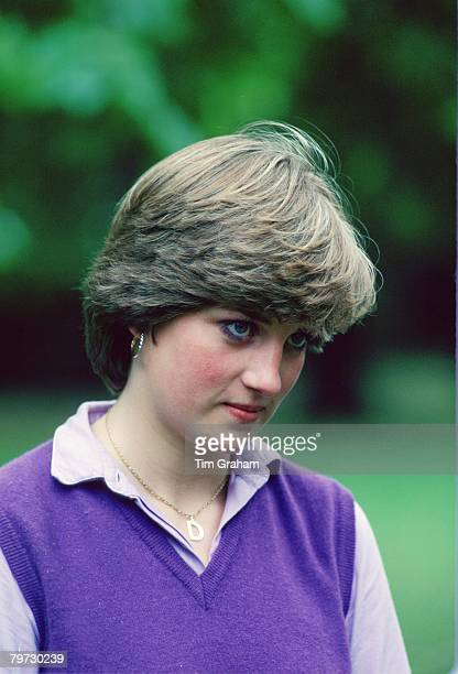 Lady Diana Spencer aged 19 at the Young England Kindergarden Nursery School in Pimlico, London