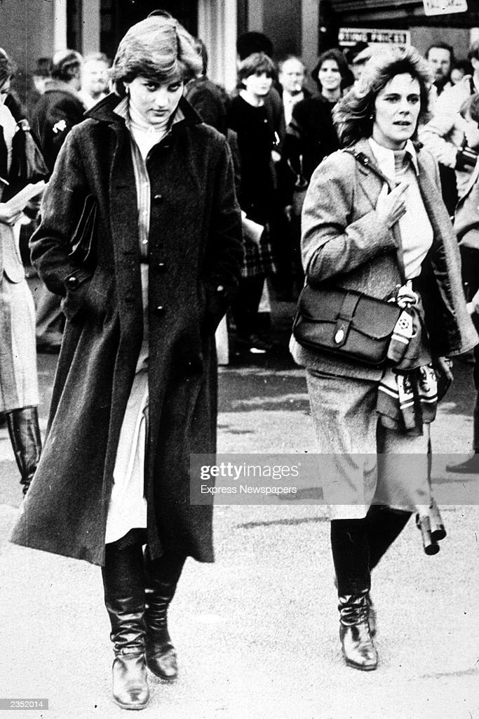 Diana & Camilla At Ludlow Races : News Photo