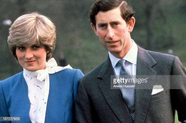 524 Princess Diana Engagement Photos And Premium High Res Pictures Getty Images