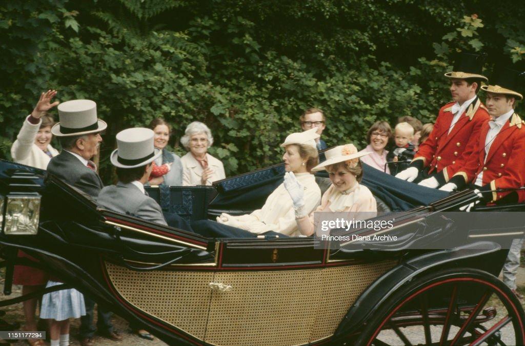 Royals At Ascot : ニュース写真