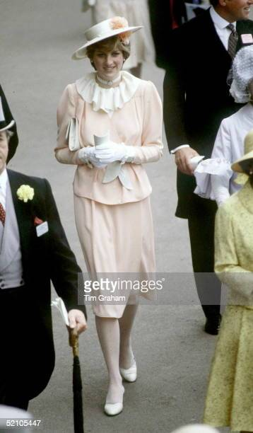 Lady Diana Spencer At Ascot
