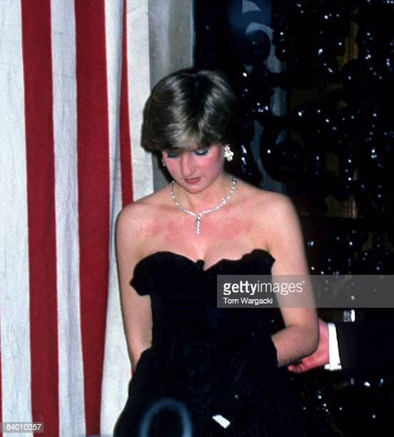 Lady Diana Spencer at Goldsmiths Hall City of London 9th March 1981