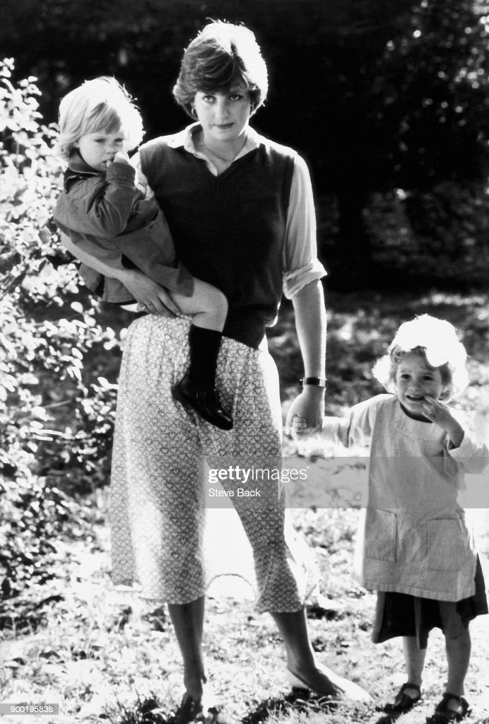 Lady Diana Spencer at the Young England Kindergarten School... : News Photo