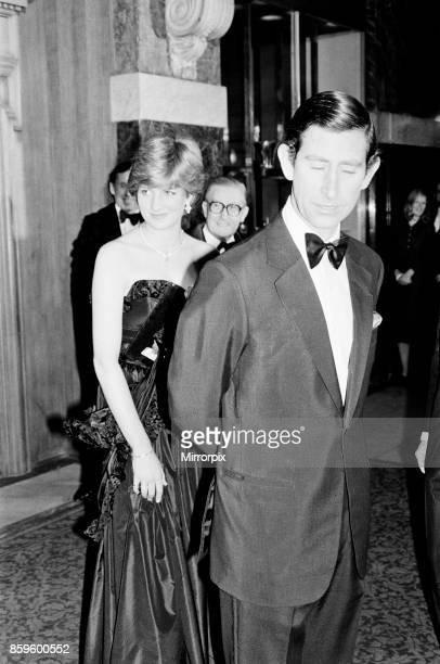 Lady Diana Spencer attended her first public engagement tonight, when she joined Prince Charles at a Gala Charity Concert at the Goldsmith's Hall,...