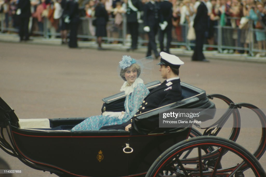 Trooping the Colour, 1981 : News Photo
