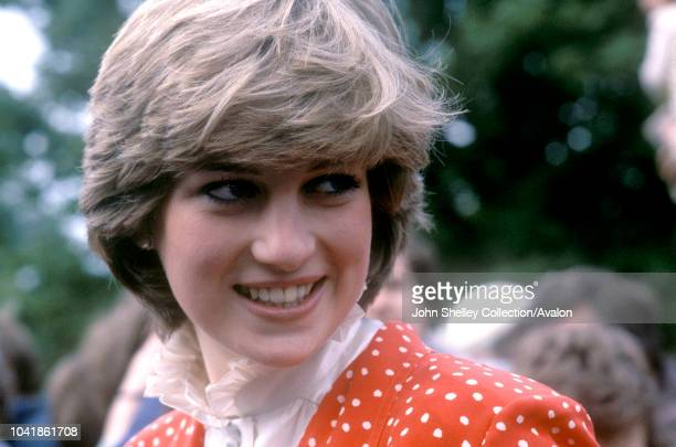 Lady Diana Spencer the future Princess of Wales 1st June 1981