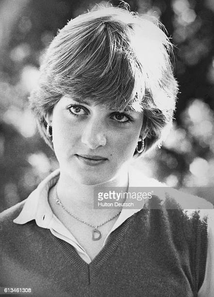 Lady Diana Spencer third daughter of Earl Spencer This picture was taken in the family home in Northamptonshire Lady Diana's name has been...