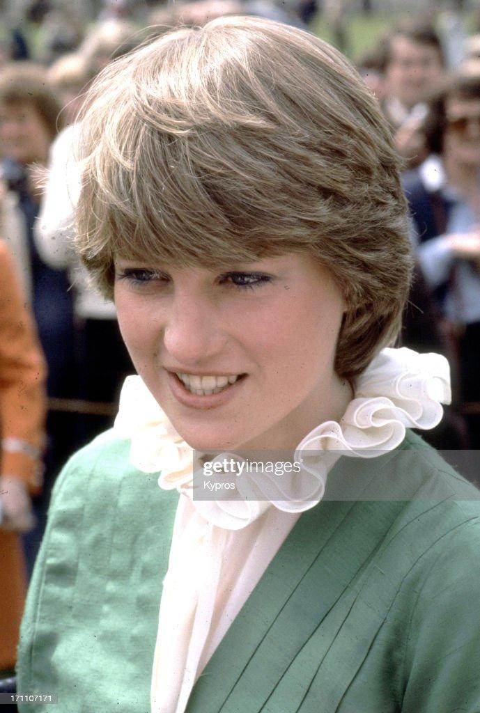 Lady Diana Spencer visits Broadlands shortly after her ...