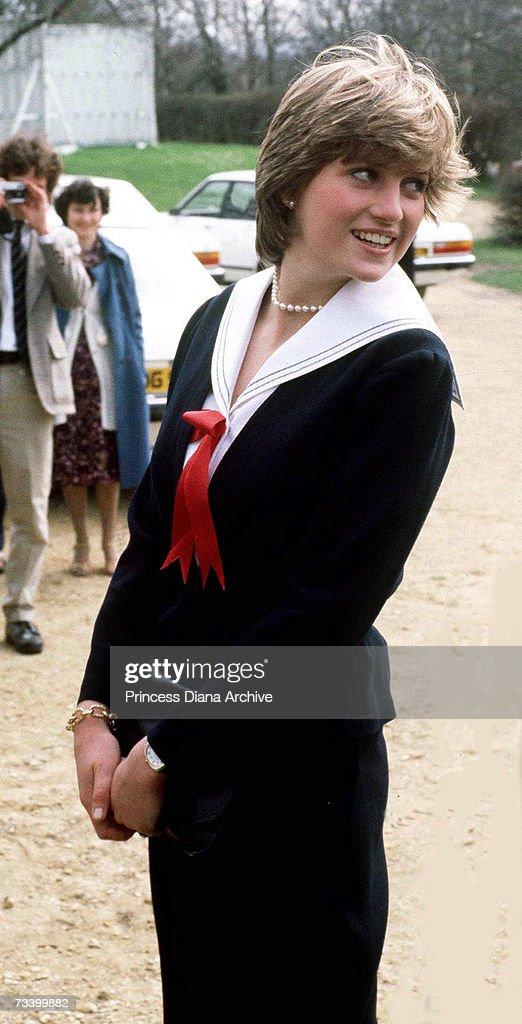 Diana In Cheltenham : News Photo
