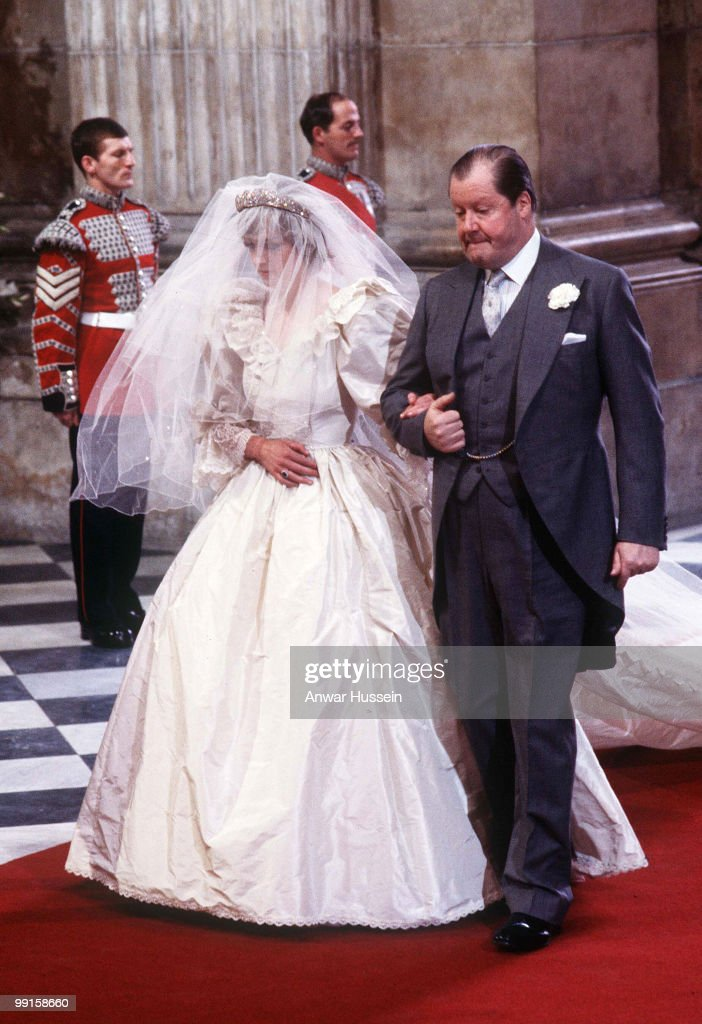 Prince Charles And Lady Diana's Wedding - July 29, 1981 : News Photo
