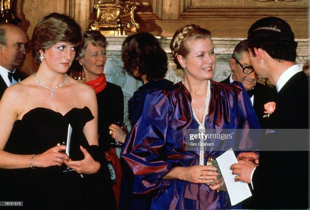 Lady Diana Spencer (later to become Princess Diana) with Pri : News Photo