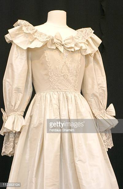 Lady Diana's duplicate wedding dress from her wedding to Prince Charles in 1981