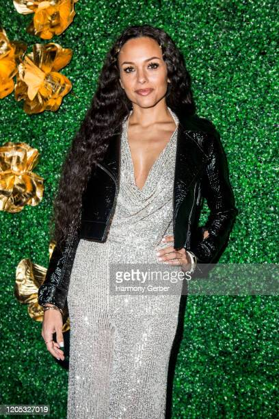 Lady Ele attends the 3rd Annual Griot Gala Oscars After Party 2020 Hosted By Michael K. Williams at Ocean Prime on February 09, 2020 in Beverly...