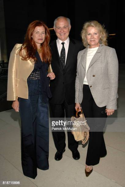 "Lady Elena Foster, Marshall Rose and Candice Bergen attend Champagne Reception for the New York Premiere of ""HOW MUCH DOES YOUR BUILDING WEIGH, MR...."
