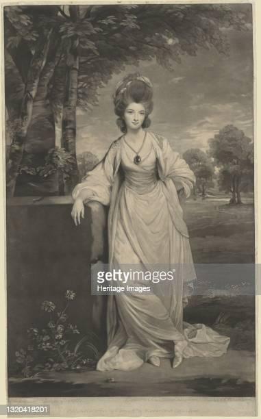 Lady Elizabeth Compton, 1781. Artist Valentine Green.