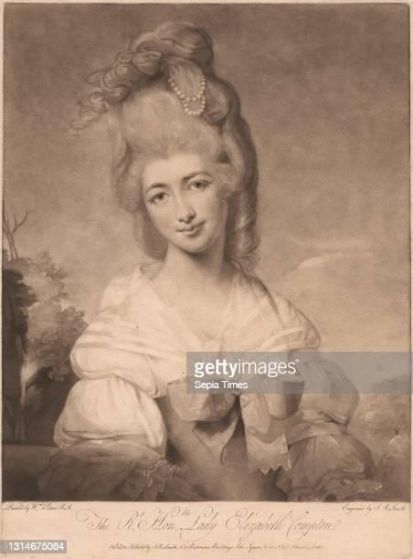 Lady Elizabeth Compton, Print made by John Raphael Smith, 1752–1812, British, after Matthew William Peters, 1742–1814, British Mezzotint on...